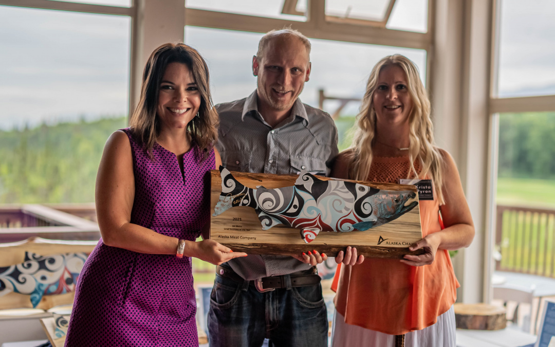 Alaska Chamber recognizes Alaska Meat for excellence in business